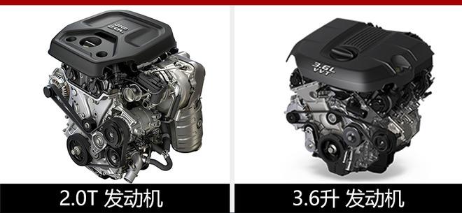 动力方面,全新一代牧马人将搭载2.0T、3.6升以及3.0T柴油发动机。其中,2.0T车型搭载的是菲亚特全球全新一代2.0T发动机,最大功率197千瓦,峰值扭矩400牛·米;传动系统方面,2.0T和3.0T柴油版车型匹配8速自动变速箱,3.6升车型匹配8速自动或6速手动变速箱。到2020年,牧马人插电式混动版本也将投放市场。