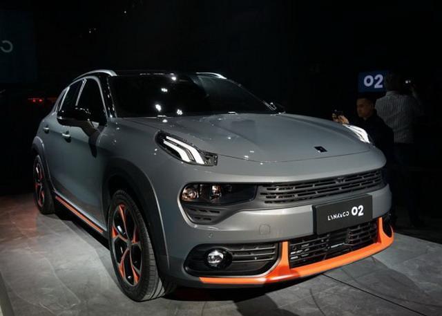 领克02将于6月正式上市 跨界风格紧凑型SUV
