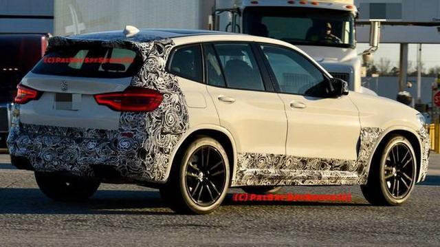 高性能SUV标杆 宝马全新一代X3 M路试谍照