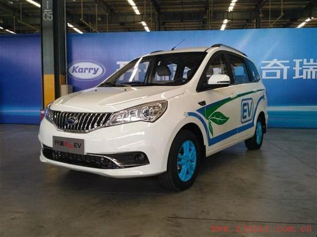 开瑞K50EV正式上市 补贴后售12.98万元