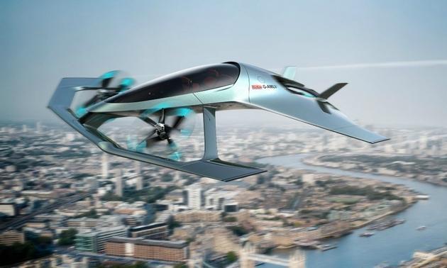 阿斯顿·马丁飞行汽车概念图